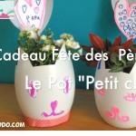 DIY cadeau fête des pères: Le pot «Petit Chat» pour papa! #Bledinafetelespapas