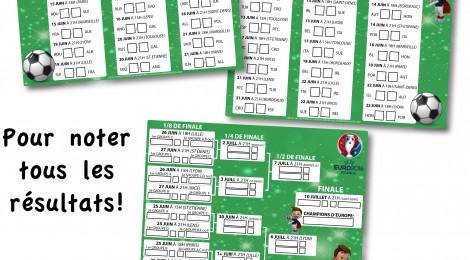 Gratuit: Imprime ton calendrier de l'Euro 2016 !
