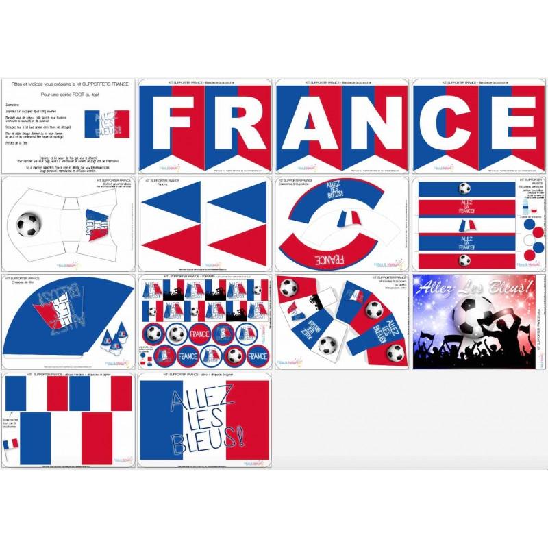 Gratuit imprime ton calendrier de l 39 euro 2016 allo - Decoration football pour anniversaire ...
