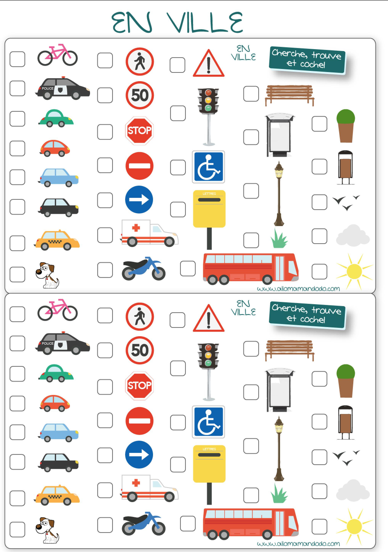 bingo voyage ville voiture