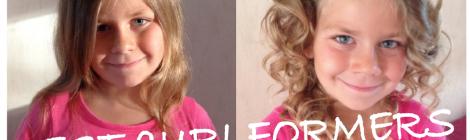 On a testé le Curlformers pour des boucles faciles!