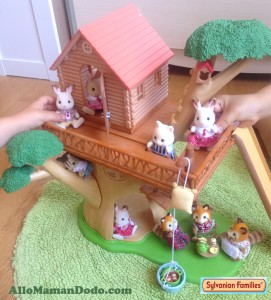 sylvanians families maison dans les arbres