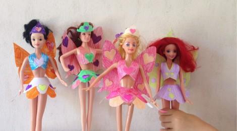 Des vêtements en papier pour Barbie à imprimer !