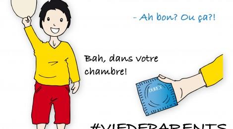 #VieDeParents n° 42: Ne laisse jamais traîner tes affaires!