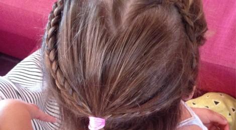 Tuto coiffure: Le Coeur dans les cheveux! (avec Vidéo explicative!)