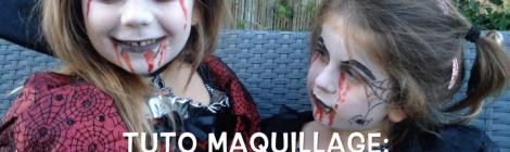 Tuto Maquillage Facile pour Enfants: Les Vampires d'Halloween !