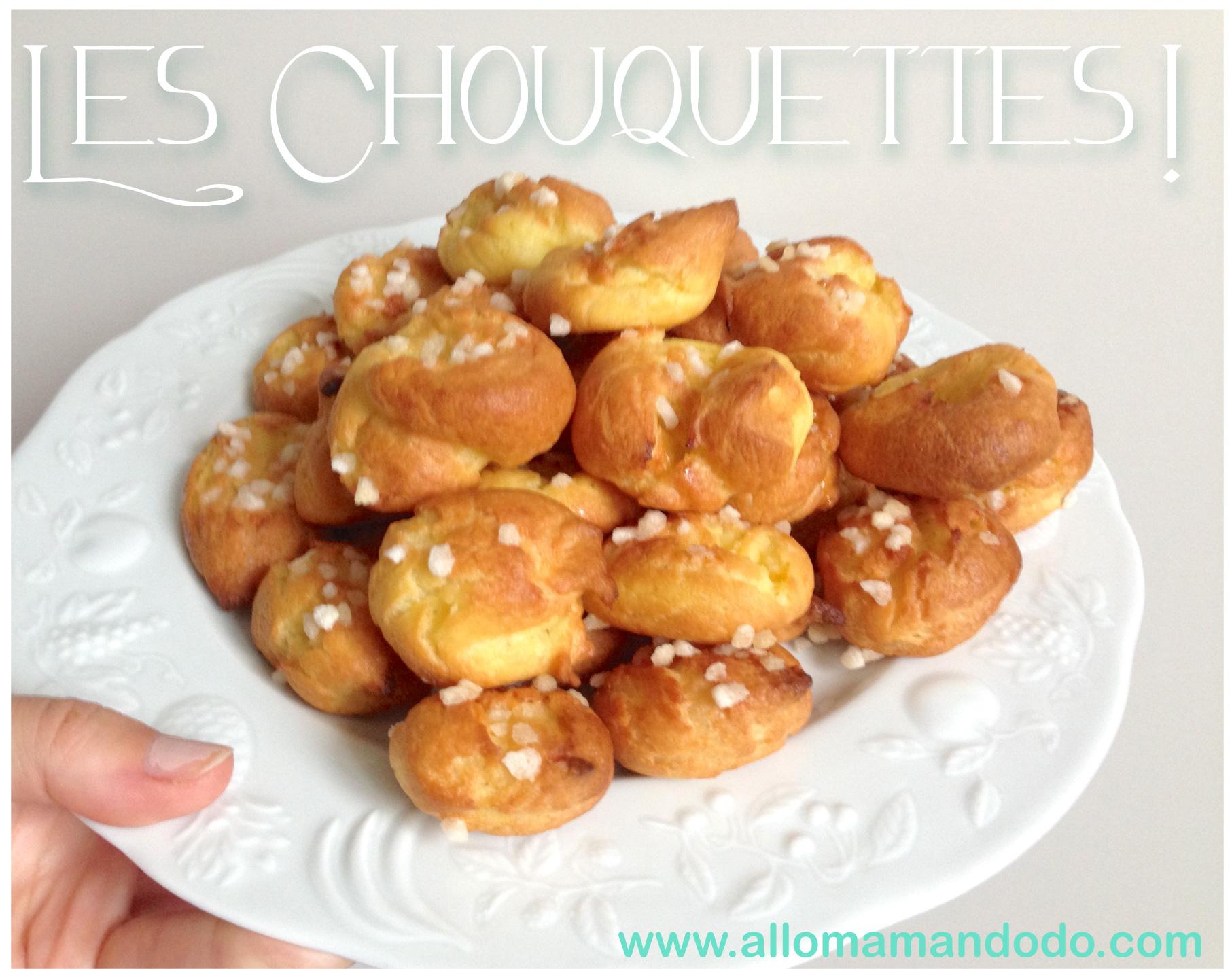 chouquettes-recette