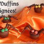 Recette Facile pour Halloweenn: Les Muffins Araignées (Vidéo!)
