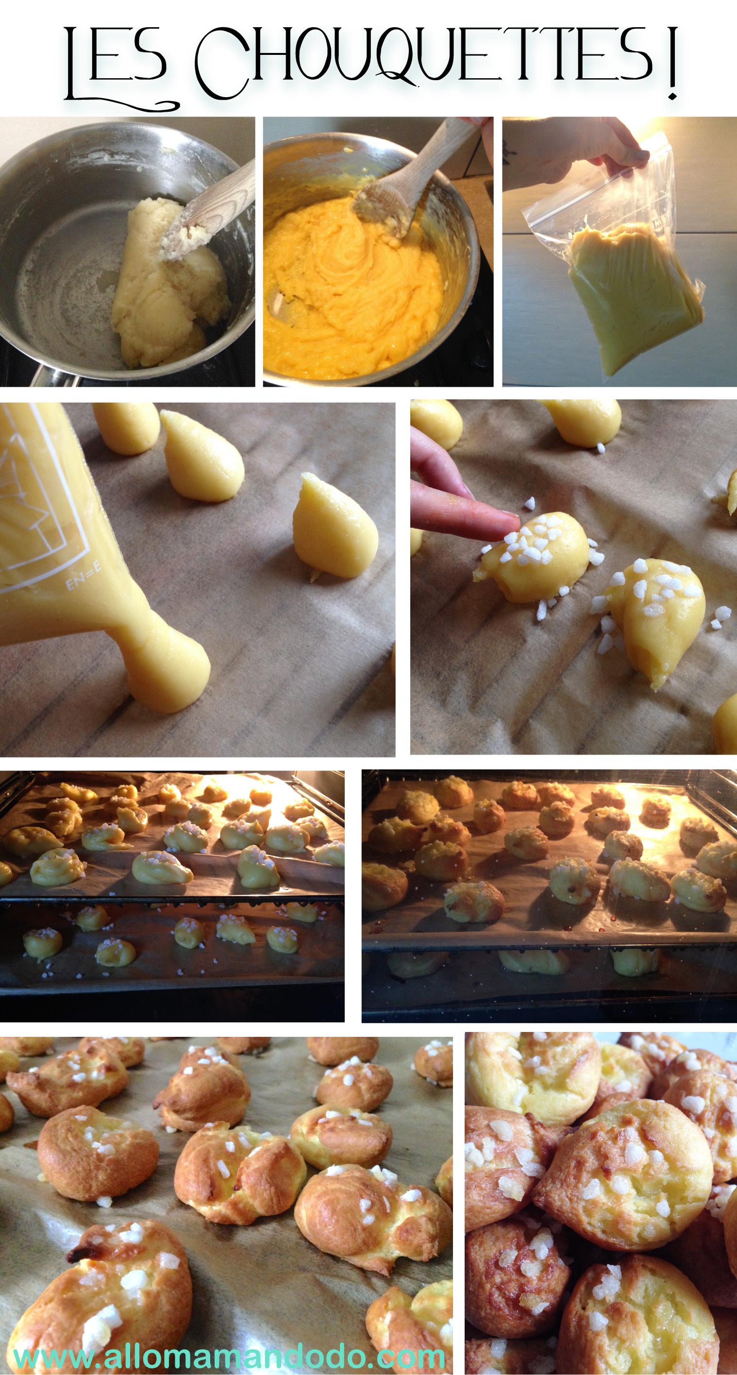 recette-chouquettes