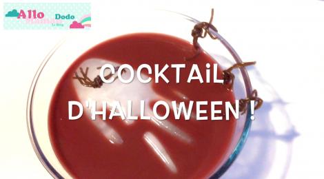 Vidéo Cocktail d'Halloween: La main dans le sang ! (Jus de fraise!)