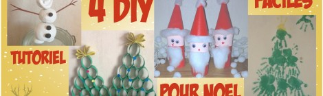4 activités facile pour préparer Noël !