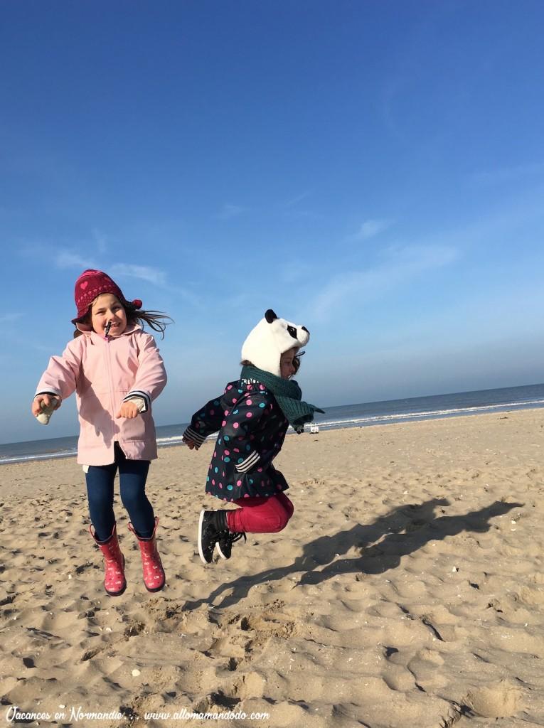 plage deauville soleil