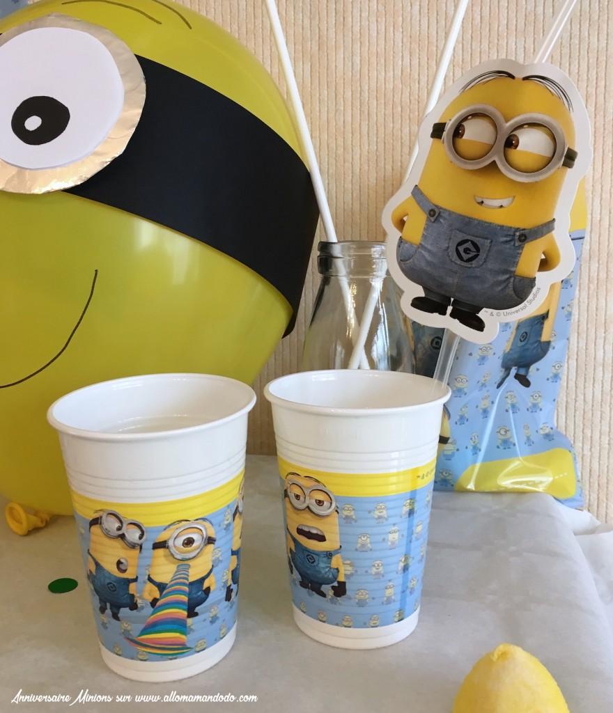 vegaoo party minion thème