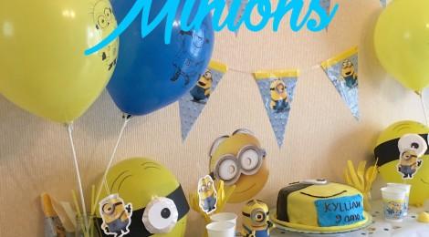 Anniversaire Minion! (Déco, Sweet Table, Activités!)