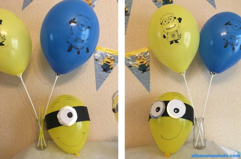 ballons minions
