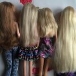 Tuto: Démêler et réparer les cheveux des poupées (Vidéo)