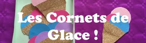 Le Tuto de Pumette: Les Cornets de Glace en Papier!