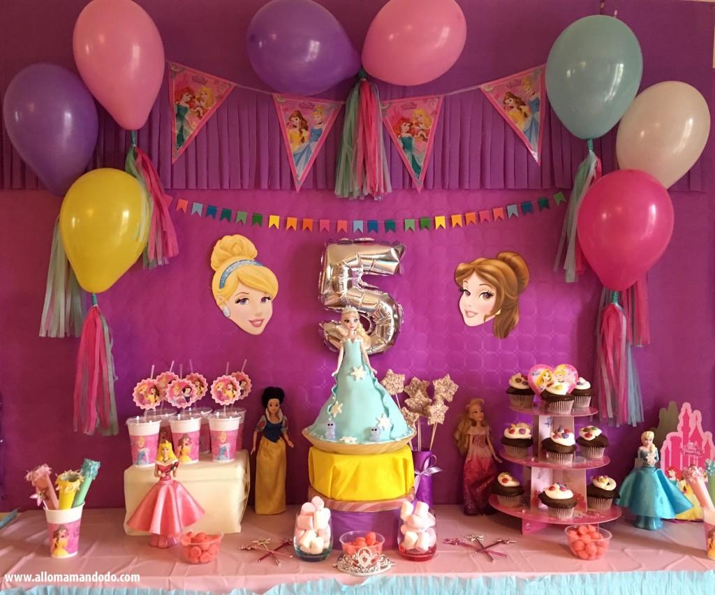 son anniversaire princesse sweettable d co et activit s. Black Bedroom Furniture Sets. Home Design Ideas
