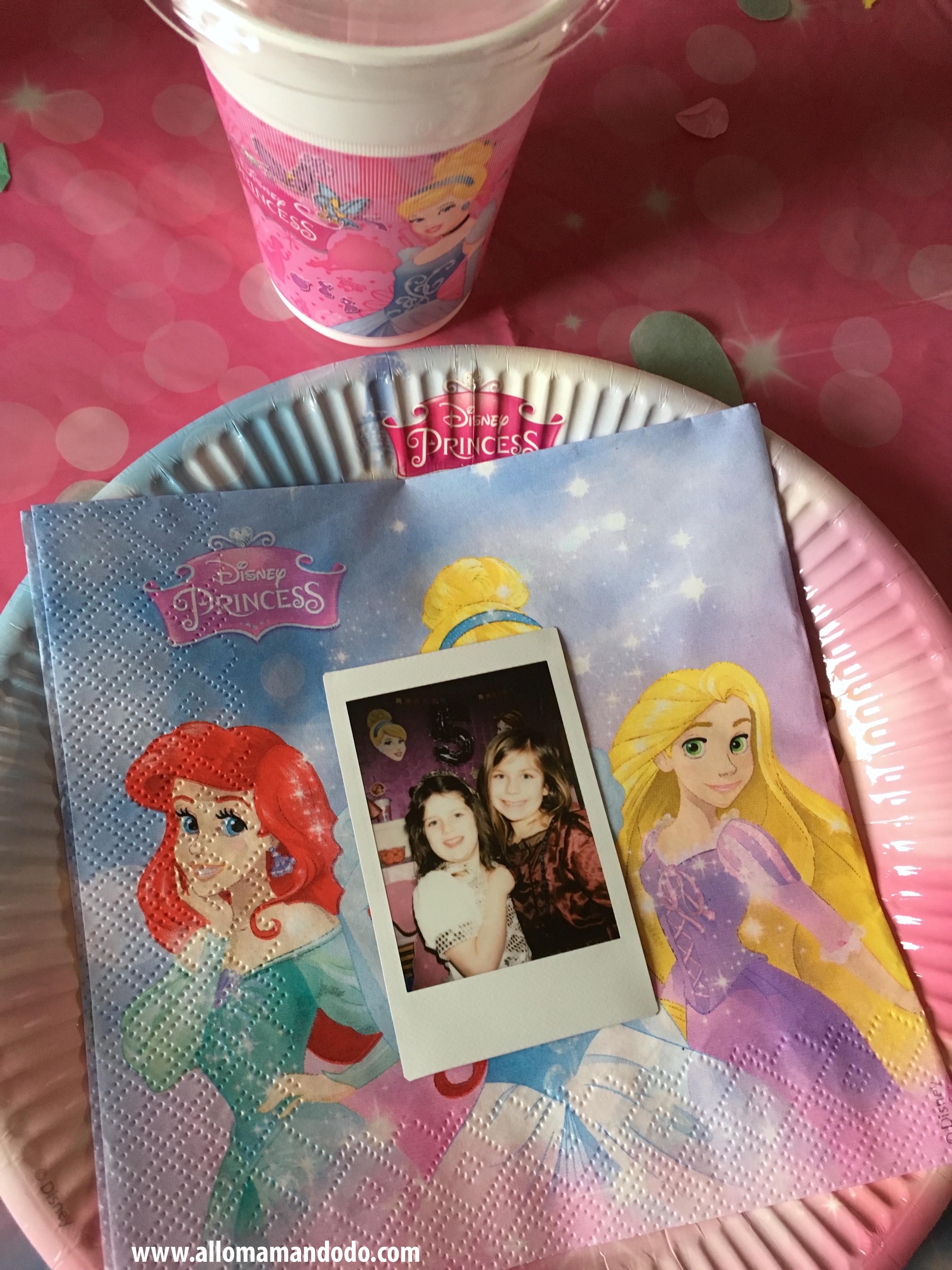 deco anniversaire princesse table