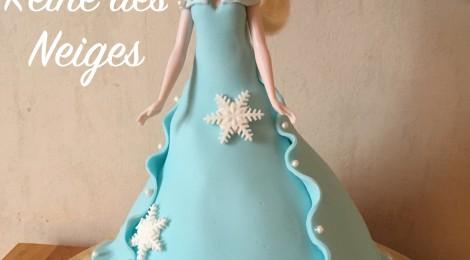 Le Gâteau Reine Des Neiges! (Tutoriel Vidéo)