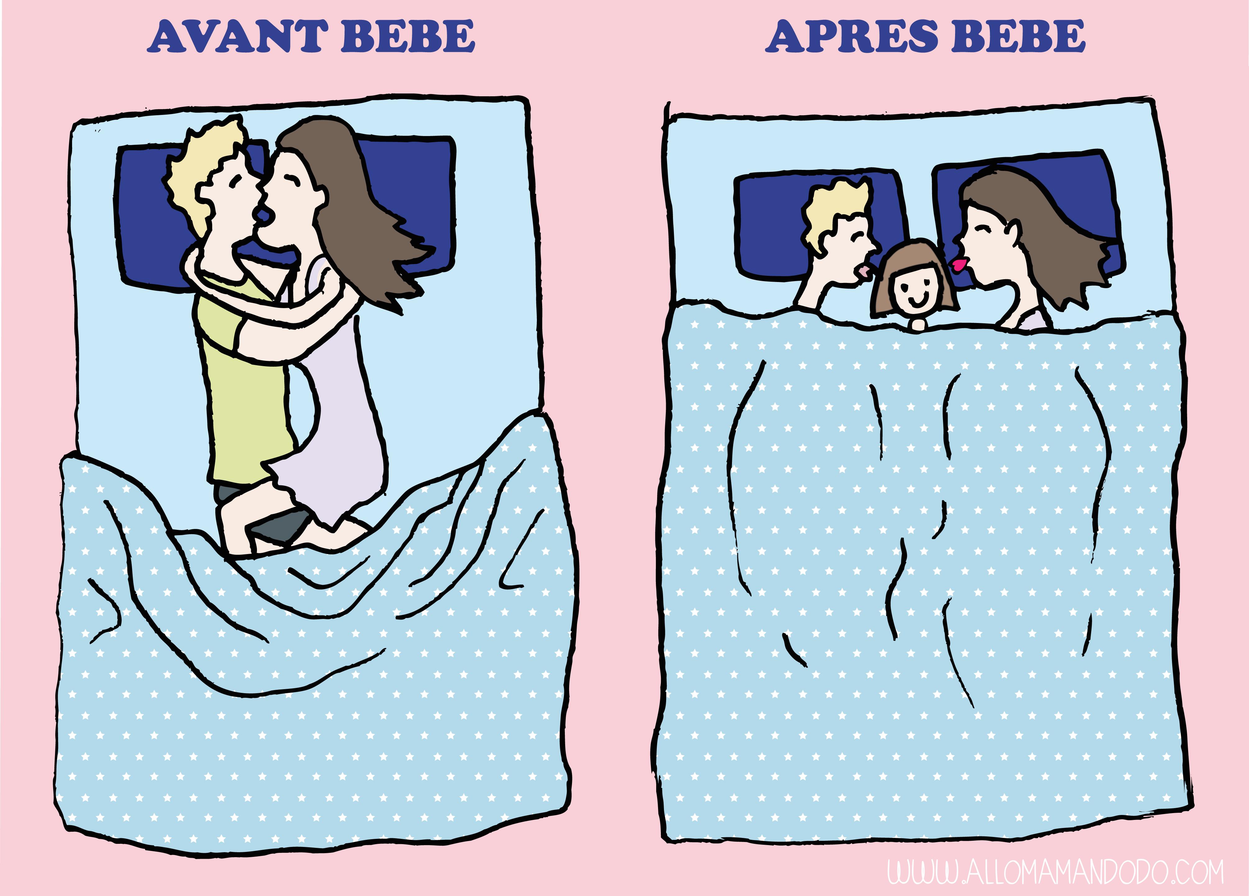 avant après bebe