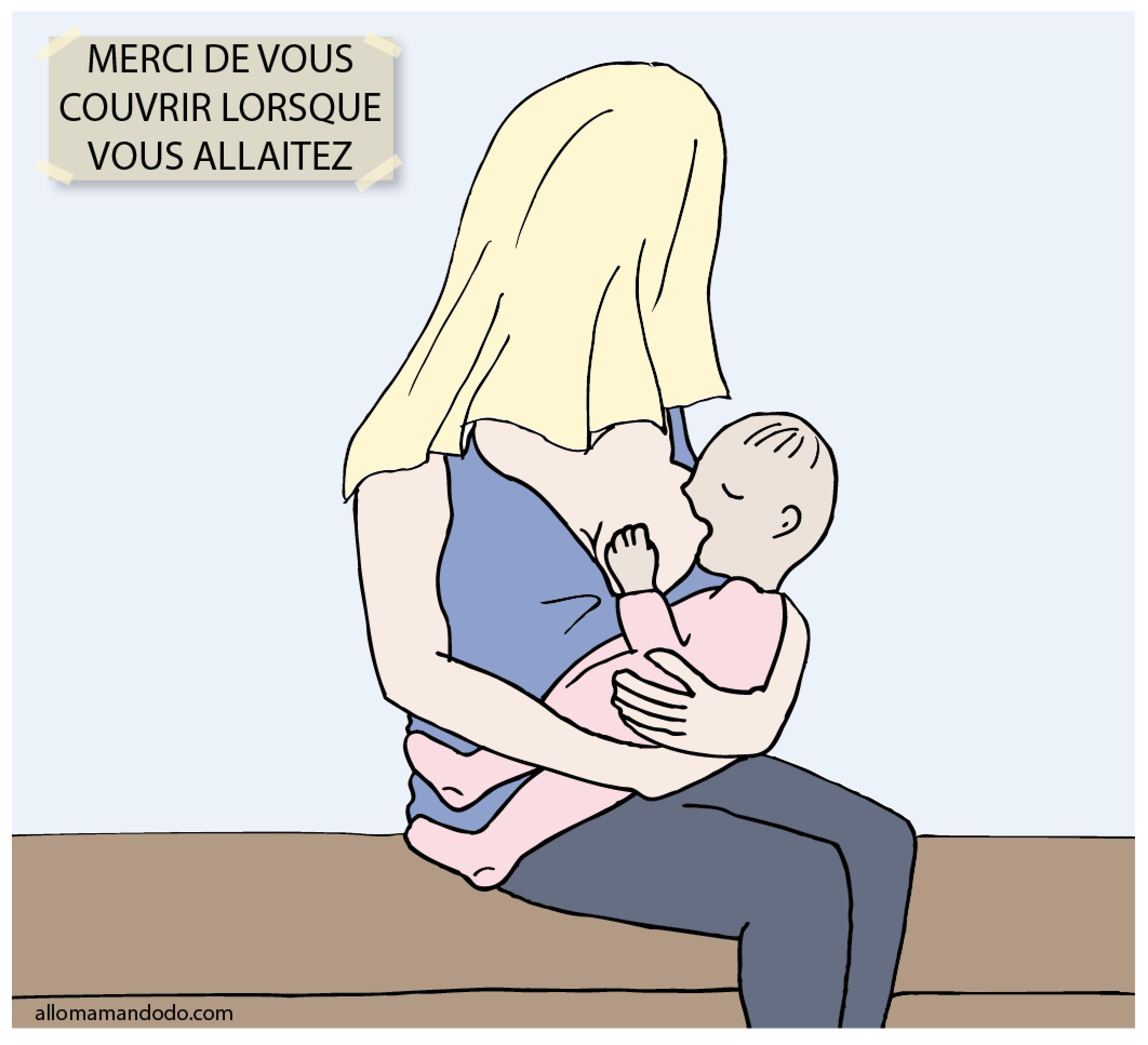 allaiter public