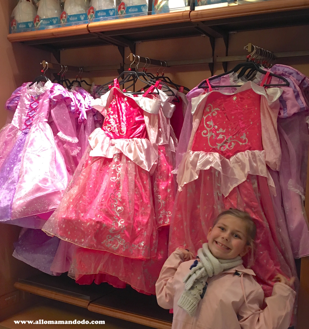 disney magasin princesse allomamandodo