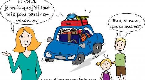 Sur la route des vacances: Entre galères et colères! (#VisMaVieDeParent)