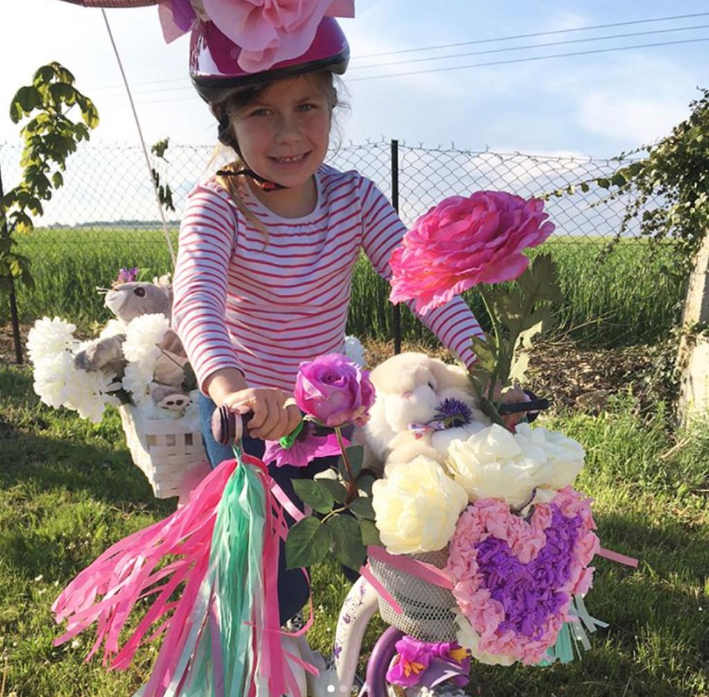 concours vélo fleuri