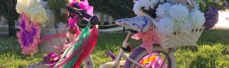 Le concours de vélos fleuris!