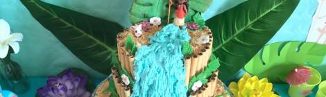Tuto vidéo: Le Gâteau d'anniversaire Vaiana!