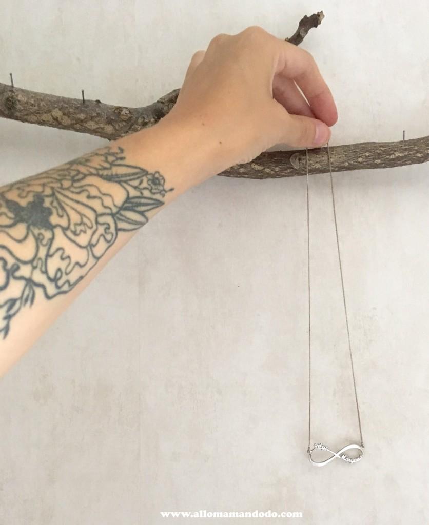 collier accroche diy chambre