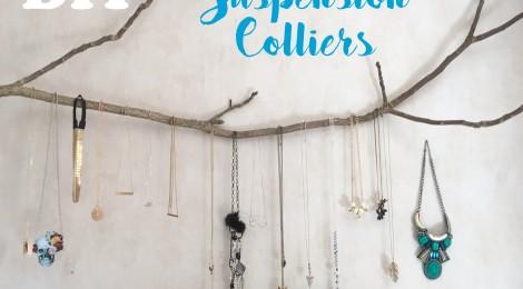 DIY: Une suspension en branche pour ranger les colliers!