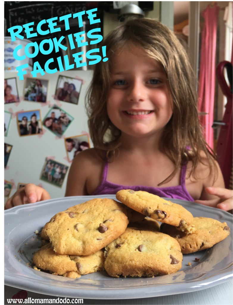 recette facile cookies sans peser