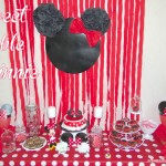 Un anniversaire Minnie (La décoration de la Sweet Table de PtitePomme)