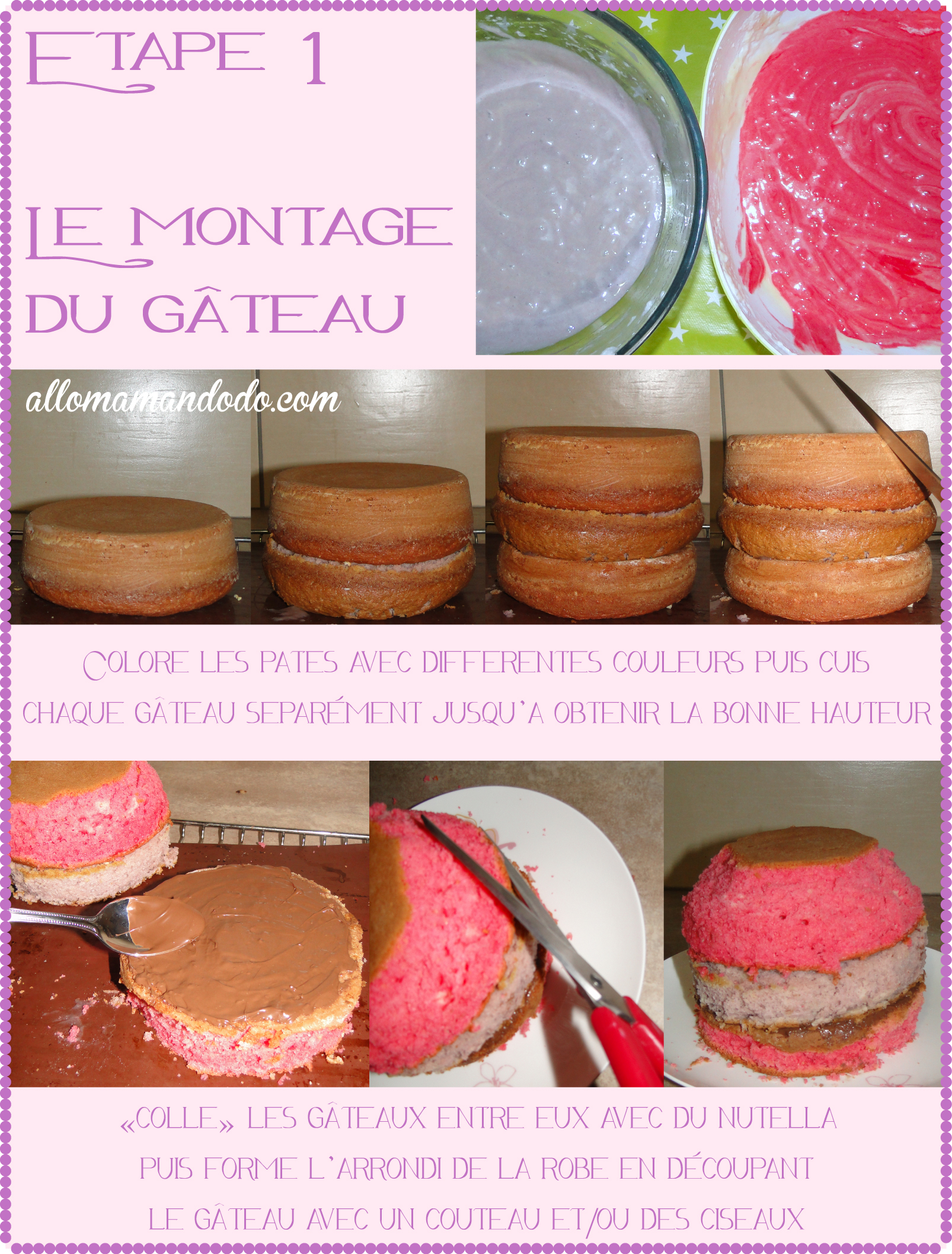 Gateau princesses facile