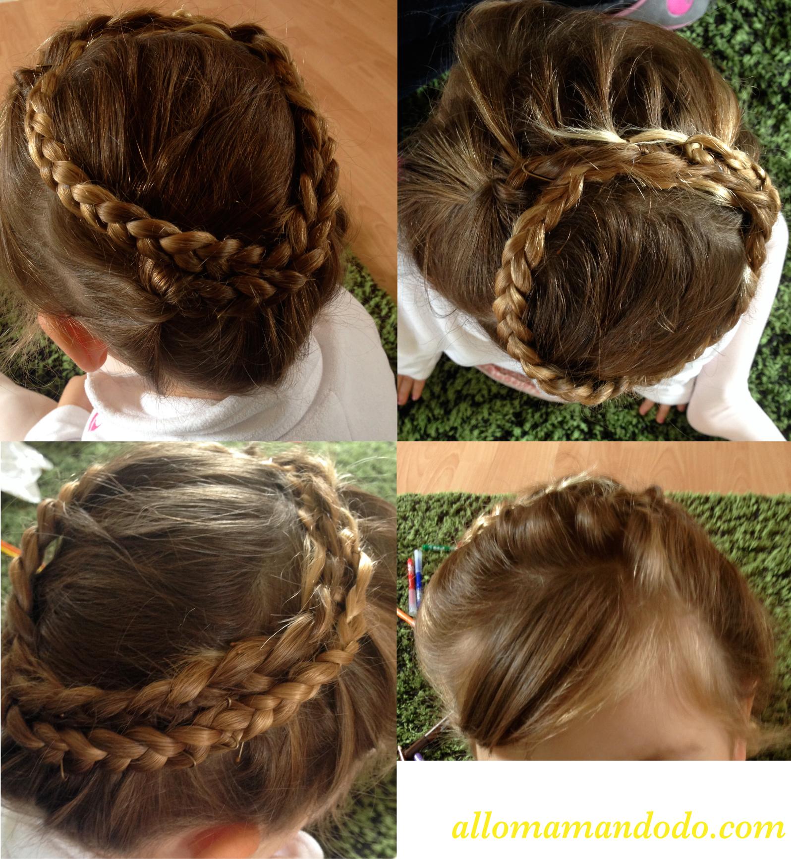 Photo des coiffures des enfants pour les vacances