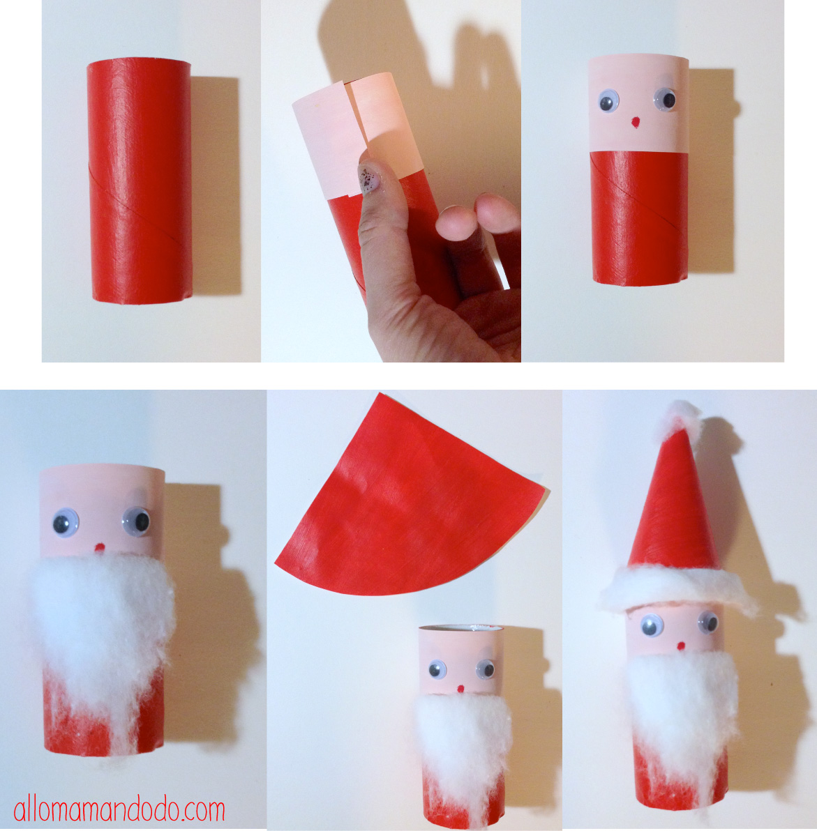 Diy p re no l super activit pour les enfants rouleau - Creation rouleau papier toilette ...