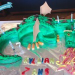 DIY Gateau Dragon (Tuto Dragon Cake)