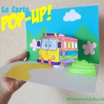 Fabrique ta carte pop-up Robocar Poli! #DIY