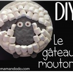 DIY: Le Gâteau Mouton en Chamallow! (Tuto Photos)