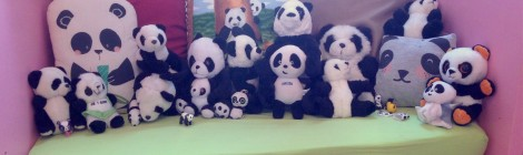 Ma fille est une Panda Addict! (Sa collection en photo!)
