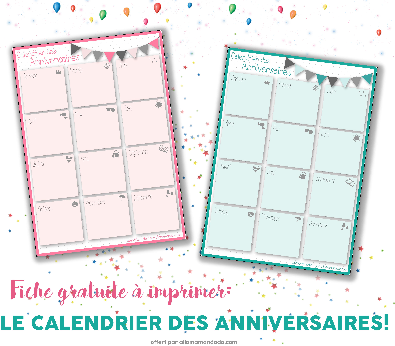 meilleur de tous calendrier des anniversaires imprimer gratuit md36 humatraffin. Black Bedroom Furniture Sets. Home Design Ideas